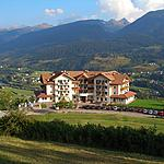 The Hotel Lagorai  - Panoramic image with the valley on the sout side