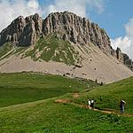 The peaks of the Val di Fiemme