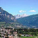 Cavalese and the beautiful Val di Fiemme  - Cavalese view nestled among the mountains of the Fiemme Valley