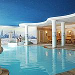 Panoramic swimming pool