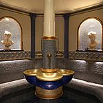 Turkish bath  - Turkish bath with menthol aromatic steam