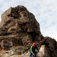 Thrilling Cermiskyline in Val di Fiemme  - Adrenaline-packed sections on the Ferrata dei Laghi