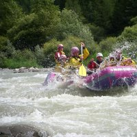 Rafting on the foot of Cermis  - A bit of adrenaline in Val di Fiemme