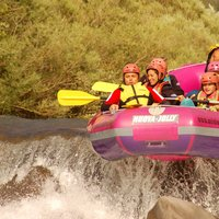 Adrenaline Rafting   - Crucial rafting moment in Val di Fiemme