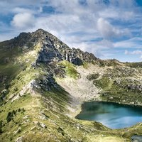 Spectacular Bombasel   - Spectacular image of Bombasel alpine lakes in Val di Fiemme