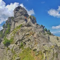 - Aim: the top of the lakes ferrata route on Cermis