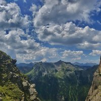 - An amazing picture of the lakes ferrata