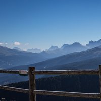 Summer landscape of Val di Fiemme  - A summer picture of Val di Fiemme peaks