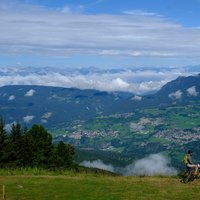 Family in MTB in Val di Fiemme  - Val di Fiemme and cycling for families