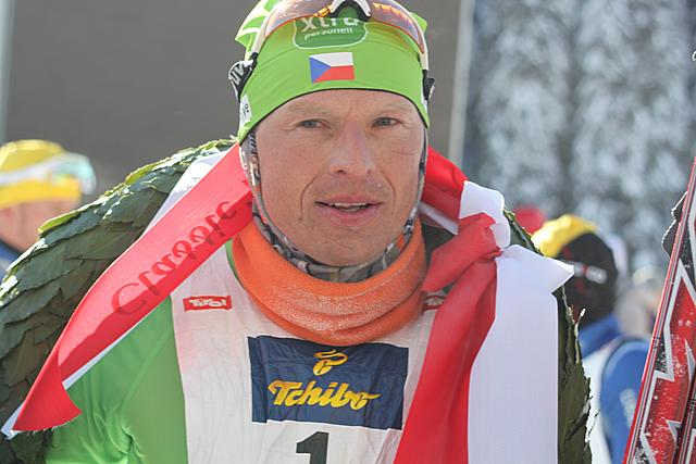 Stanisalv Rezac (CZE) wins the Dolomiten Classic Race!