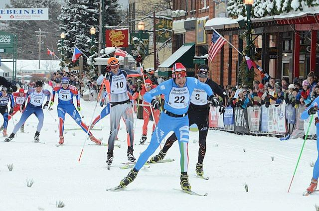 Italian day at the American Birkebeiner