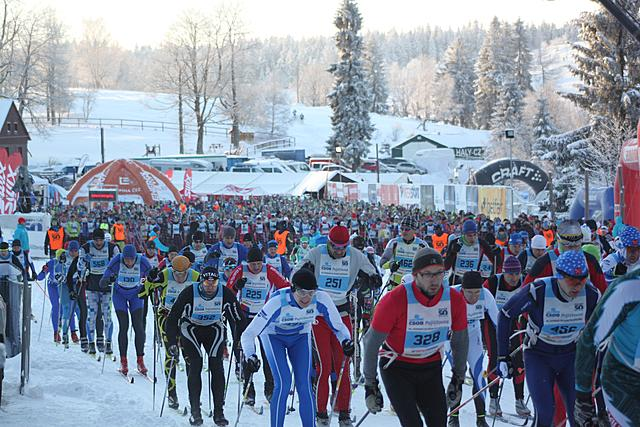 Perfect conditions for the Jizersk� Padesatka 50km CT