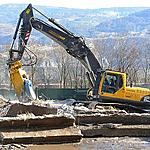 Volvo EC 290Bnlc demolition