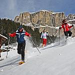 Run with your snowshoes.. - ...and enjoy the pureness of the mountain air!