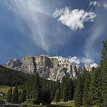 Val di Fassa - starting point for a new experience into nature - Landscape is beatiful and extraordinary