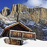 Val di Fassa during Winter Season...  - ...real taste of Winter!