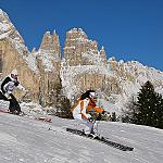 Fassa Valley: 230 km of slopes ever perfectly capped! - ..and your desire of skiing is guaranteed!