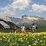 Val di Fassa - breath-taking landscape - Fresh air fills chest and soul of a new enthusiasm!