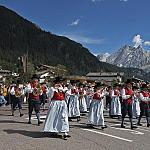 Val di Fassa: step inside culture and tradition - The traditional parade at the end of the summer season