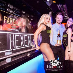 Hexen Klub, disco with 2 room 2 music and special guests