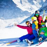 Kids in the Fiemme Valley