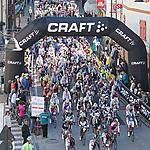 29.05.2011, 7:30 am, Predazzo - the start of the 5th MArcialonga Cycling Craft