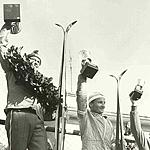 The winners: Boelling - Oikarainen - Biondini - 1973