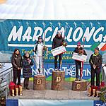9th MARCIALONGA LIGHT - Top3 Ladies 45km: Polakova, Milazzi, Gianola