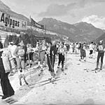 Food and Drink Station at Pozza di Fassa - 1974
