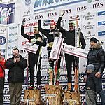 The men podium - 1. Oskar Svard 2. Jerry Ahrlin 3. Jorgen Aukland