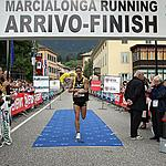 Bazzanella on finish