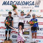 10. MARCIALONGA CYCLING CRAFT 2016 - Podio Femminile 80KM