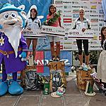 Top 3 Ladies della 5^ Marcialonga Running - 1� Carlin Monica  2� Iachemet Francesca  3� Beatrici Lorenza