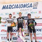 10. MARCIALONGA CYCLING CRAFT 2016 - Podio maschile 135 km