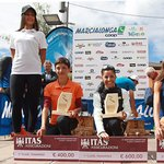 Podio Ladies: 1) Iozzia 2) Giomi 3) Cunico