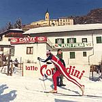 Molina di Fiemme - a solitary racer