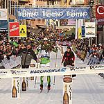 41st MARCIALONGA 26.01.2014 - Oestensen on finish line