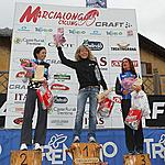 PODIO LADIES 2012 - 6^MARCIALONGA CYCLING CRAFT