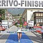 The winner of the ladies category: Federica Ballarini, Italy  - Time 1h.55