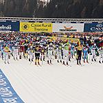 Start of the 39th Marcialonga