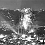 Fireworks during the Opening Ceremony  - 1971