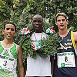 Top 3 Men - 1� Kiprono Justus Kipchirchir  2� Amor Rached  3� Bazzanella Francesco